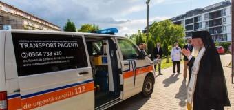 """O ambulanță pentru Centrul de Îngrijiri Paliative """"Sfântul Nectarie""""  Cluj-Napoca"""