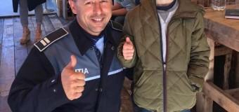 MINOR RĂTĂCIT, GĂSIT DE POLIȚIȘTI