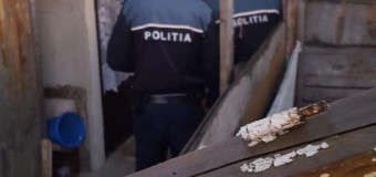 Razie a polițiștilor clujeni la Pata Rât. Trei persoane banuite de comiterea unor infracțiuni au fost duse la secția de poliție.