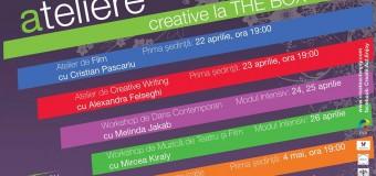 Create.Act.Enjoy ne propune in aprilie-mai, 5 ateliere creative pentru dezvoltarea abilitatilor.