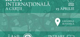 23 Aprilie 2015- Ziua Internaţională a Cărţii, sărbătorită la Cluj