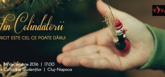 """Concert cartiabil de colinde – VIN COLINDATORII! """"FERICIT ESTE CEL CE POATE DĂRUI""""."""
