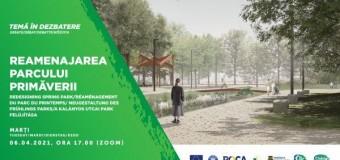 Parcul Primăverii a fost prezentat în dezbatere CIIC.