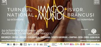 Turneul National Imago Mundi – 10 artiști în 10 săli de concerte din 10 orașe ale României. În 24 octombrie ajunge la Cluj