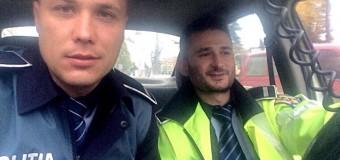 Ei sunt polițiștii zilei – au prins un bărbat care amenința cu declanșarea unei explozii. Dorea să își omoare soția.