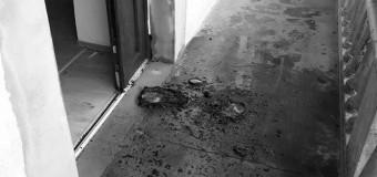 UPDATE:Bărbatul a fost reținut – Percheziții la domiciliul persoanei suspectate în cazul tentativei de incendiere a sediului PSD Cluj.