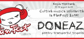 Line-up-ul FânFest 2014 Este Final! Muzica Solidarității se aude la Roșia Montană!