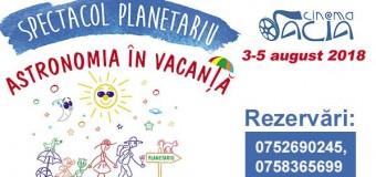Planetariu Mobil revine la Cluj-Napoca cu un spectacol nou