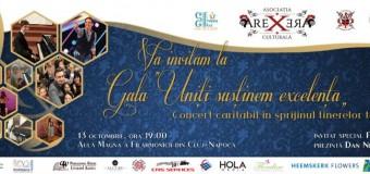 """Gala """"Uniți susținem excelența"""" – concert caritabil. Susține si tu copiii în dezvoltarea potențialului lor artistic."""
