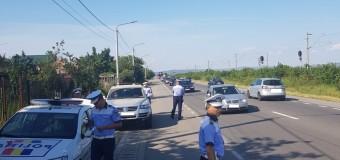 Acțiuni de amploare ale polițiștilor la sfârșit de săptămână: sute de sancțiuni și zeci de permise de conducere reținute.