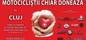 """Campanie de donare de sânge – """"Motocicliștii chiar donează"""". Află cum te poți implica."""