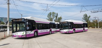 Alte 20 autobuze electrice au intrat în circulație la Cluj-Napoca.