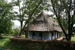 8 Parcul Etnografic - gospodaria  Geaca