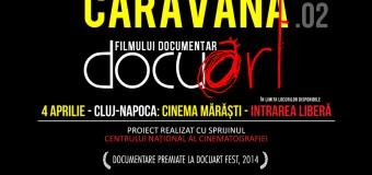 Caravana Docuart ajunge pentru al doilea an consecutiv în Cluj-Napoca