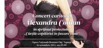 """Concert caritabil, la Cluj, în sprijinul proiectului """"Cărțile copilăriei în fiecare casă"""""""