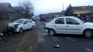 Accident rutier Floresti soldat cu doua - Sambata