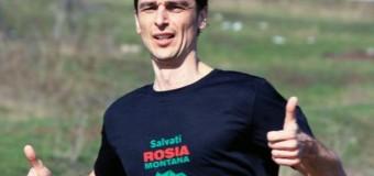 """Adi Dohotaru va alerga mâine, 120 de km în sprijinul campaniei """"Salvaţi Roşia Montană"""""""
