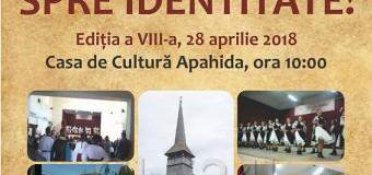 """Festivalul de folclor """"Prin tradiție … spre  identitate"""" Apahida"""