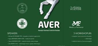 Congresul anual al Asociației Veterinare Ecvine din România (AVER), găzduit de USAMV Cluj-Napoca, între 22-24 martie, cu participarea a peste 150 de specialiști din țară și străinătate