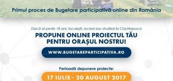 Bugetare participativă Cluj-Napoca 2017 – lista proiectelor finale