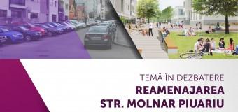 Dezbatere CIIC privind reamenajarea străzii Molnar Piuariu.