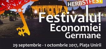 Festivalul de Toamnă al Economiei Germane-Herbstfest 2017 aduce din nou Oktoberfestul la Cluj!