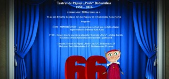 Teatrul de Păpuşi Puck împlineşte vineri, 66 de ani.