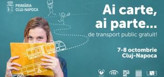 Ai carte, ai parte… de transport public gratuit!