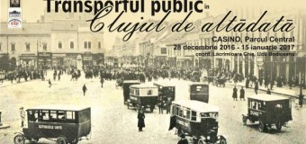Expozitia de fotografie – Transportul public in Clujul de altadata