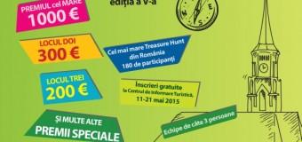 Concurs de Treasure Hunt în cadrul Zilelor Clujului