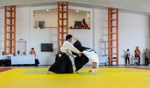 Aikido Mitsuteru Ueshiba si Marchis