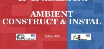 AMBIENT CONSTRUCT & INSTAL în perioada 25 – 28 februarie 2015 la EXPO Transilvania