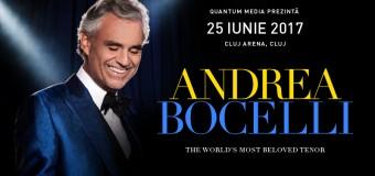 Invitați de marcă alături de Andrea Bocelli, în concertele din România