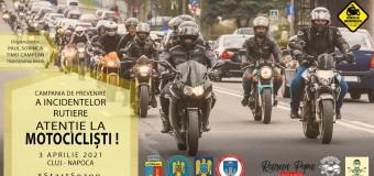 """""""Atenție la Motocicliști"""" – ediția a VIII-a va avea loc în 3 aprilie."""