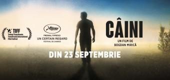 """""""Câini"""" – din 23 septembrie în cinematografele din România"""