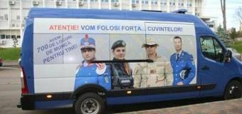 Caravana Jandarmeriei – Campanie de recrutare candidaţi pentru şcolile de subofiţeri ale Jandarmeriei Române