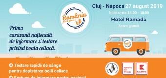 Prima caravana de informare si testare gratuita pentru boala celiaca din Romania ajunge la Cluj