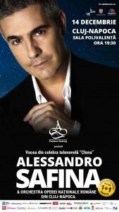 Concert Alessandro Safina,14dec- afis