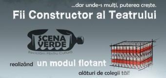 Competiție –  Fii Constructor al Teatrului Scena Verde primești premii consistente!
