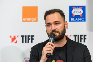 Cristian Hordila la conferinta de presa TIFF 2019 - Foto Nicu Cherciu