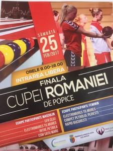 Cupa Romaniei la Popice