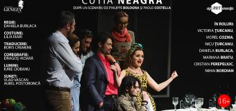 Două spectacole, în premieră la Cluj-Napoca, prezentate de Teatrul Geneza Art, din  Chișinău