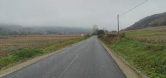 A fost asfaltat drumul județean din Fizeșu Gherlii.