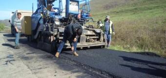 RAADPP Cluj execută lucrări de asfaltare pe DJ 161K, între localităţile  Căianu şi Bărăi