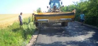 Au fost finalizate lucrările de asfaltare pe drumul județean 161B Turda – Ploscoș