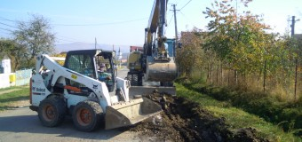 Au demarat lucrările de reabilitare și modernizare a drumului judeţean 150 Viişoara – Ceanu Mare – Frata – Mociu