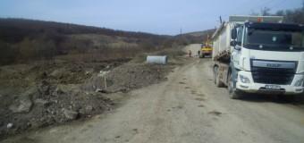 Au fost reluate lucrările de reabilitare și modernizare pe drumul judeţean 161C Iclod – Aluniş