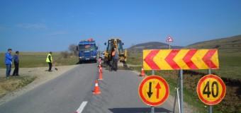 Au început lucrările pe drumul județean 107R Ciurila