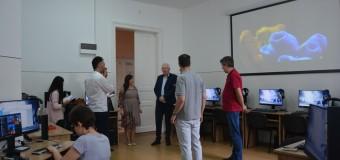 Laborator de informatică cu dotări unice la nivel naţional, inaugurat la Liceul pentru Deficienţi de Vedere din Cluj – Napoca