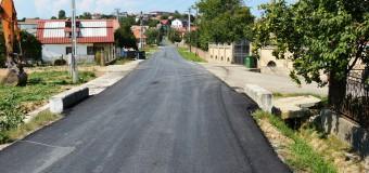 Drumul județean care duce spre pârtia de schi din Feleacu, complet asfaltat